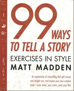Buchcover Matt Madden 99 Ways to tell a Story