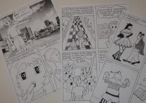 einige Ergebnisse eines Mangakurses